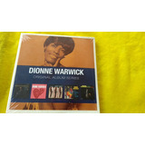 Dionne Warwick Original Album Series Lacrado Box Com 5 Cds