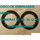 Disco De Embreagem Moto Shineray Xy 50 Q   Q2