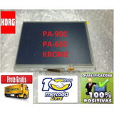 Display Korg Pa600 Completo Lcd   Touch Screen   Placa  Novo