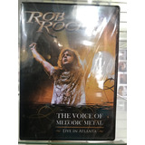 Dvd cd Rob Rock   The Voice Of Melodic Metal