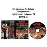 Dvd Bob Marley And The Wailers   Midnight Travers 1973