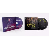 Dvd Duplo The Vox   Cd  Fornalha Zoe Lilly Dunamis