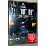 Dvd Fall Out Boy   Boys Of Zummer Tour Chicago   Promoção