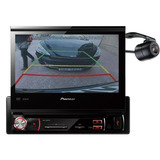 Dvd Pioneer Automotivo Retr�til 7 Pol Avh 3580dvd Camera R�