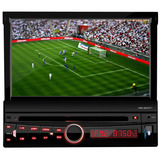 Dvd Player Auto Retratil H Buster Hbd 9820 Tela 7 Touch Tv