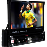 Dvd Player Automotivo Booster 9950 Retratil 7  Tv Digital Sd