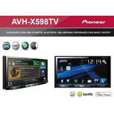 Dvd Player Pioneer Avh x5880tv 598tv  2din Bluetooth Tv Waze