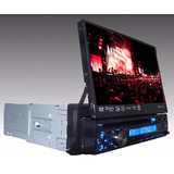 Dvd Player Retr�til Touch Lcd 7 Tv Bluetooth Ipod Usb Sd Av