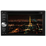 Dvd Player Roadstar 6 2  Duble Din Dvd Usb Sd Tv E Bluetooth