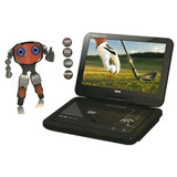 Dvd Port�til Bak Tela 11� Lcd Usb Divx Tv Mp3 Game Bolsa