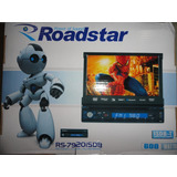 Dvd Retratil Roadstar Rs 7920isdb Tv Digital usb touch Tela7