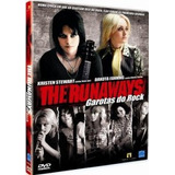 Dvd The Runaways   Garotas Do Rock  semi Novo