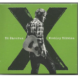 Ed Sheeran   X   Wembley Edition   Cd dvd Novo