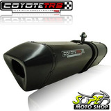 Escape Ponteira Coyote Trs Tri oval Twister Cb 250 15    Blk