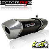 Escape Ponteira Coyote Trs Tri oval Twister Cb 250 15    Pto