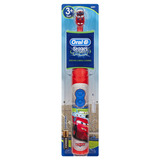 Escova Elétrica Infantil Disney Cars Oral B Stages Power