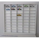 Estante Expositor Carrinhos Hot Wheels   50 Nichos Em Mdf