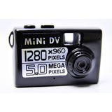 Filmadora Mini Dv Camera Espia 5 0 Mp Detec��o De Movimento