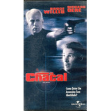 Filme Fita Vhs O Chacal Bruce Willis Richard Gere 1997