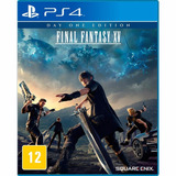 Final Fantasy Xv Ps4 Day One Edition Pronta Entrega