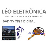 Flat Cable Para Retr�til Napoli Modelo Dvd tv7887 Digital