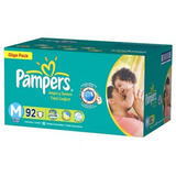 Fralda Pampers Total Confort Giga Pack   Tam: M   92 Und