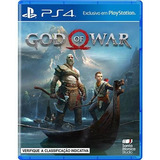 God Of War Ps4 Mídia Física Lacrado Pt br Pronta Entrega