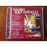 Grammy Rap Nominees 1999 ~ Cd Japonês Hip Hop Will Smith