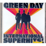 Green Day 2001 International Superhits Cd Com Letras