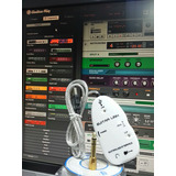 Guitar Link Interface De Audio Usb   Guitar Rig   2 Palhetas