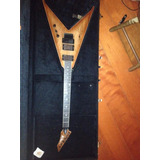Guitarra Bc Rich V Spalded Maple   Com Case Bc Rich
