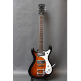 Guitarra Jay Turser Mosrite Mosman Antique Sunburst