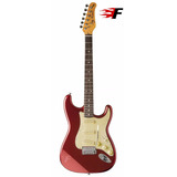 Guitarra Jay Turser Strato Jt 300v Vintage Candy Apple Red