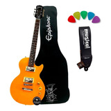Guitarra Les Paul Slash EpiPhone Special 2 Kit Com Correia +
