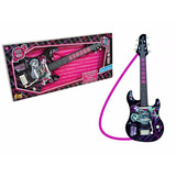 Guitarra Musical Infantil Monster High Fun Original À Pilhas