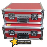 Hard Case Par Toca Discos Pickup Audio Technica