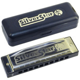 Harm�nica Silver Star 504 20 G   M50408   Hohner