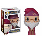Harry Potter    Albus Dumbledore Boneco Pop Funko 10cms  04