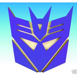 Hasbro Transformers Decepticon Logo Wall Plaque   Placa