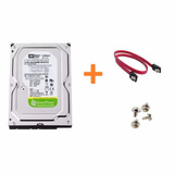 Hd Western Digital 500gb Sata3 Gbps Greenpower   Cabos