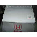 Honda New Civic  2010 Manual Proprietario Completo