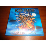 Iced Earth   Cd Triplo Alive In Athens   Lacrado   Nacional