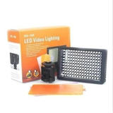 Iluminador Hd 160 Led Luminaria Luz Filmadora Video Dslr