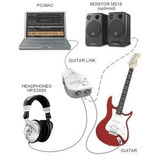 Interface Guitar Link Usb Adaptador Pc Not Apenas R$ 41 99