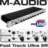 Interface M audio Fast Track 8r Ultra  8 Canais