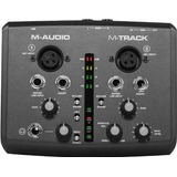 Interface M audio M track Mtrack M Track Superior Fast Track