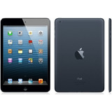 Ipad Mini Apple A1432 Preto Tela De 8   16gb Wifi Seminovo