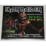 Iron Maiden   The Book Of Souls Brasil Tour 2cd Splicase