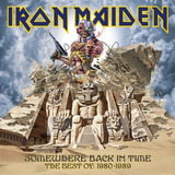 Iron Maiden Somewhere Back In Time Cd Novo E Lacrado