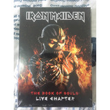 Iron Maiden The Book Of Souls Live Chapter Deluxe  No Brasil